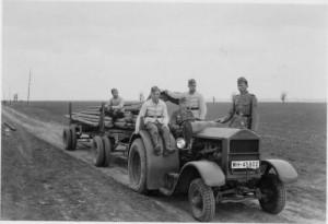 Disel traktor